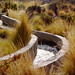 Irrigation water canal