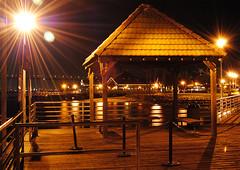 ferry landing (SaveMeDale) Tags: bridge night pier san downtown diego coronado coronadobridge