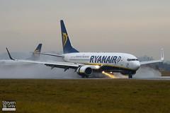 EI-DWT - 33626 - Ryanair - Boeing 737-8AS - Luton - 110106 - Steven Gray - IMG_7555