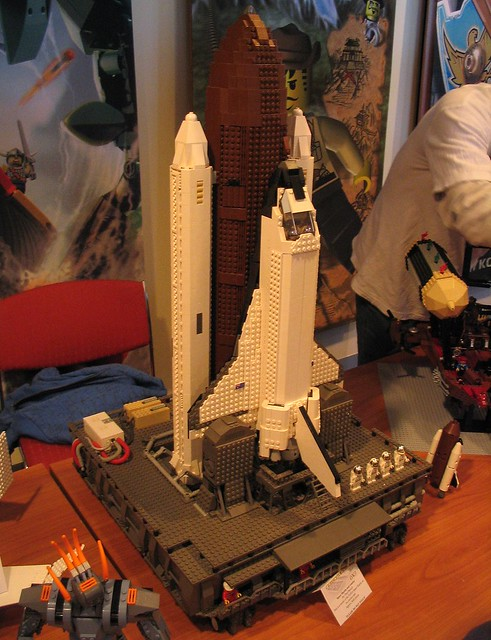 Space Shuttle at Brickvention 2009