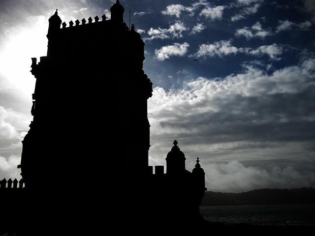 Torre de Belem contraluz (Lisboa)