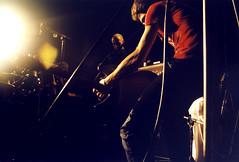 Fugazi (Sumlin) Tags: camera nottingham 2002 music rock analog dc washington scans punk marcus zoom super olympus ballroom indie gigs shows analogue 1990s alternative garvey fugazi dischord 2000s az300