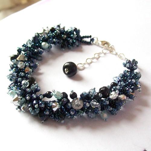'Twilight' Beadwoven bracelet