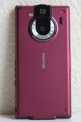 REGZA phone カメラ機能