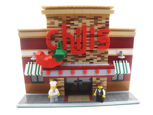 Lego Chili's Restaurant