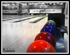 Let the Good time Roll (Mesbahinho) Tags: white black ball time good cam bowling roll kuwait let hamad 3gs cozmo q8 iphone mesbahinho almesbah