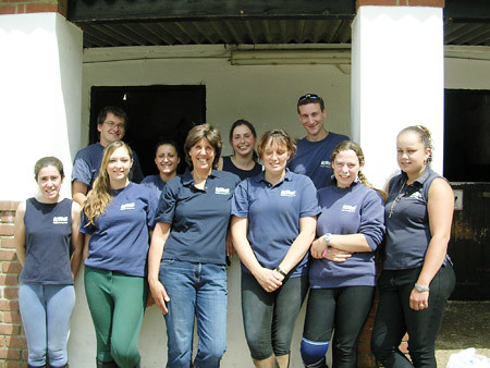 horse riding team at kingston riding centre