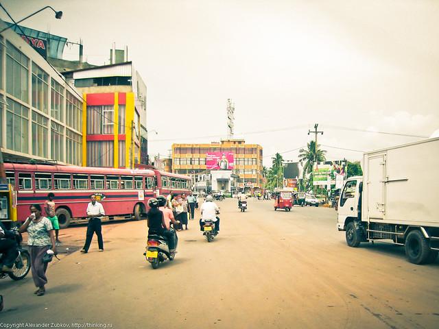 Автобусная станция в Негомбо