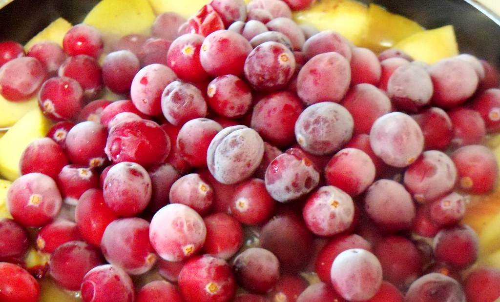 Iced Cranberries