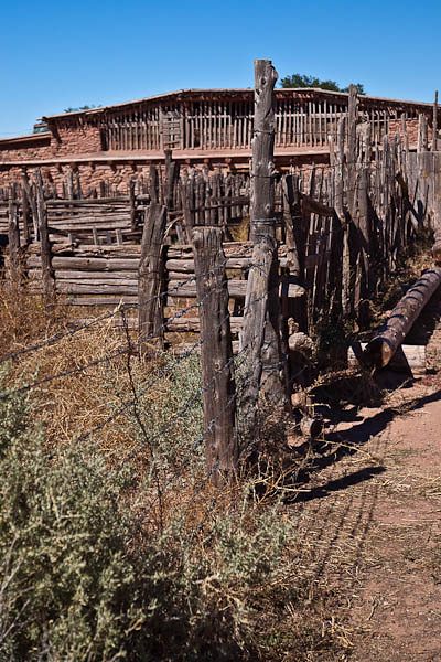 Stockades at Hubbell Trading Post