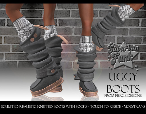 UGGY BOOTS GREY