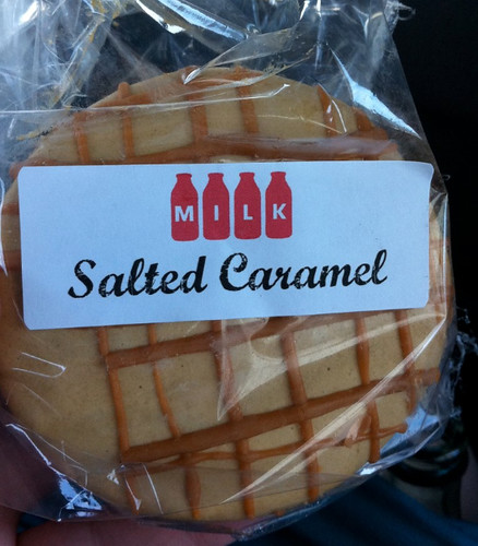 Salted Caramel Ice Cream Sandwich