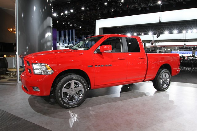 auto show truck north detroit pickup international american ram 1500 2011