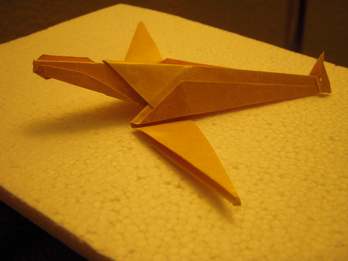 Origami #18: Flying Fish