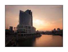 Clarke Quay Sunset (~ @lvin ~) Tags: longexposure sunset singapore cityscape clarkequay nd110 canon1740f4lusm