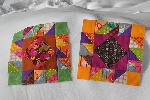 Blocks for RAchel, Modern Tradition Quilt Bee