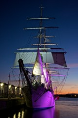Christian Radich (mariano iannuzzi) Tags: longexposure colors oslo norway night lowlight ships museums fragata christianradich 18250mm