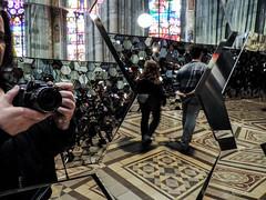 Doug Aitken: No History, 2005 (Anita Pravits) Tags: vienna wien sculpture church mirror spiegel kirche skulptur exhibition neogothic spiegelung votivkirche ausstellung mirroring dougaitken votivchurch neugotisch davidrastas