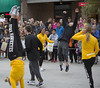 University Of Iowa Homecoming Parade 2016 (IowaPipe) Tags: universityofiowa homecoming state iowa iowacity parade crowd people college students fans gymnastics gymnast