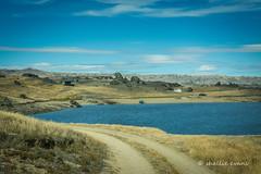 The Road to Upper Manorburn Dam, Ida Valley (flyingkiwigirl) Tags: upper manorburn dam ida valley central otago fishing hut greenland reservoir
