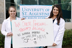 2016 National Physical Therapy Month (UniversityofStAugustine) Tags: physical therapy month national choose annual sign