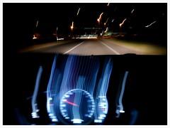 di passaggio 3 (alventura) Tags: italia auto strada mosso luci italy car street moved lights drive movimento notte motion night