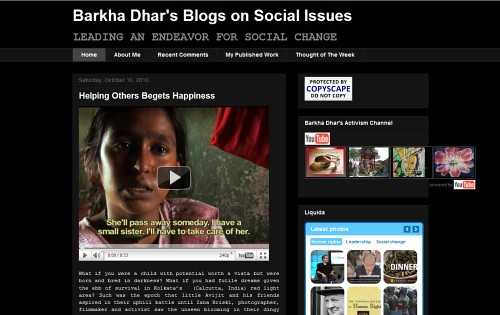 Barkha Dhar's Blogs On Social Issues