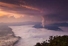 Sunrise @ Mount Bromo (Helminadia Ranford) Tags: indonesia landscape volcano mount bromo helminadia eastjava