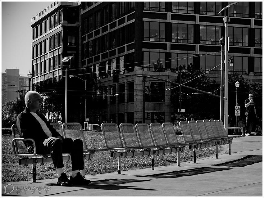 Alone B&W.