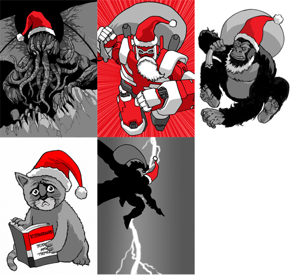 Christmas Cards of Awesomeness
