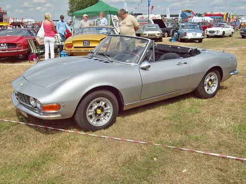 1969 Fiat Dino Spider. 246 Fiat Dino Spider (1966-73)
