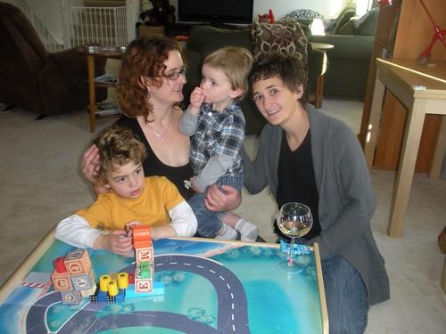Nathan, Ryan, Sam and Leigh