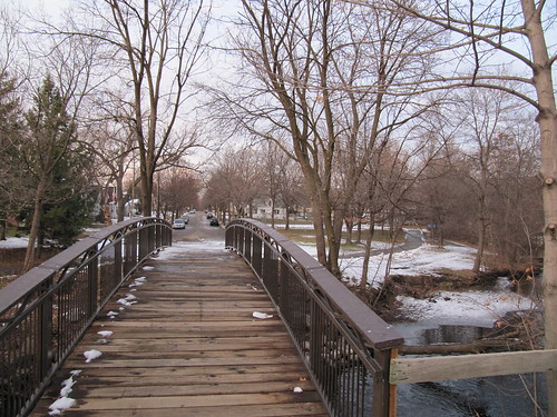 Nokomis Ave Pedestrian Bridge over Minnehaha Creek