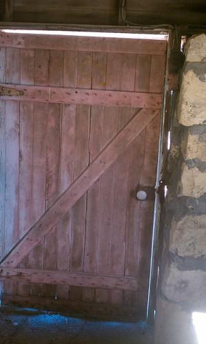 Milk barn door 1