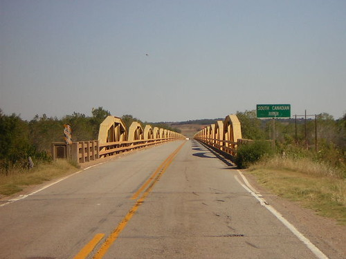Bridge in Bridgeport, Oklahoma