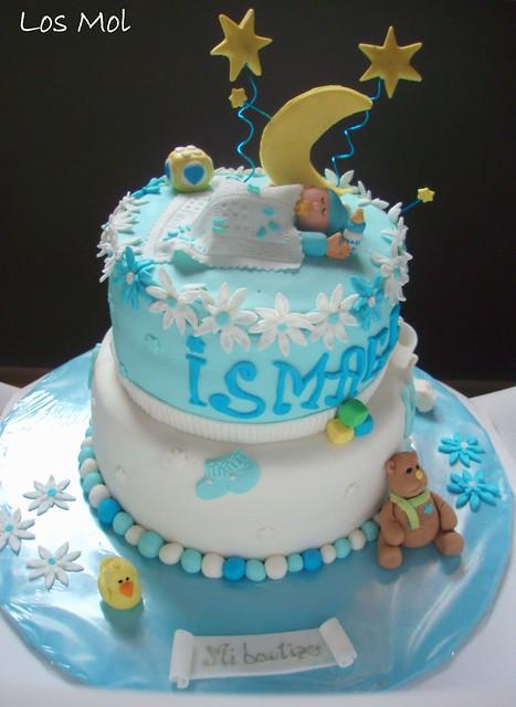 1 Tarta bautizo Ismael - CHRISTENING CAKE