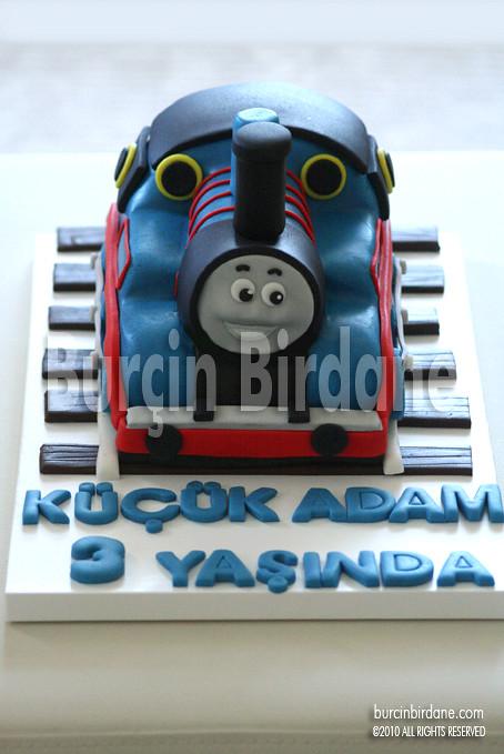 Tren Thomas Pastası 1