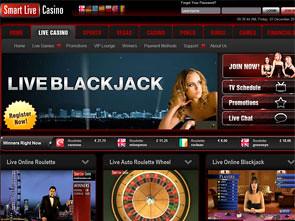 Smart Live Casino Home