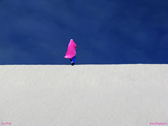 Go Pink (AlicePopkorn) Tags: pink blue sky smile energy heart alicepopkorn updatecollection
