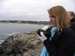 Walker's Point (Send me adrift.) Tags: ocean camera people water point ana nikon rocks wind windy walkers