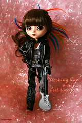 Rock star (Lastaelys) Tags: pink ala pullip poppingbubbles