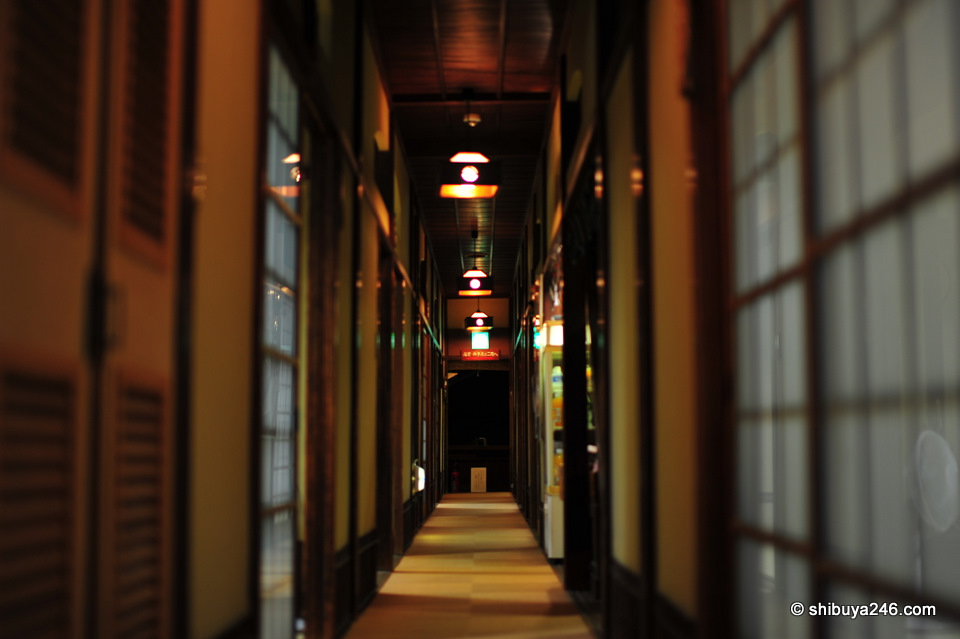 Narrow passageways, reminded me of Sen to Chiharu