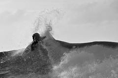 Maui Winter (brodrock) Tags: winter blackandwhite hawaii surf maui snap surfing northshore marzo napili claymarzo