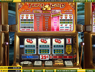 Triple Gold slot game online review