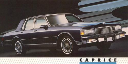 1989 Chevrolet Caprice Classic Brougham LS