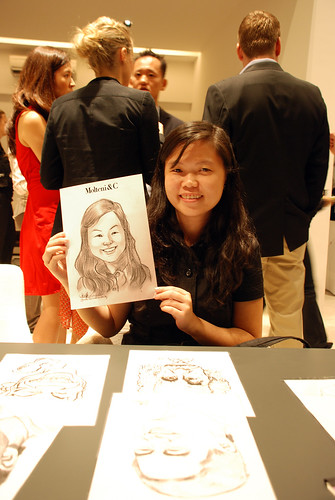 Portrait & Caricature live sketching for Molteni & C - 7