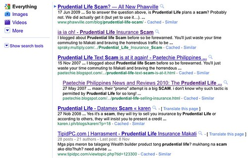 prudential life scam - Google Search