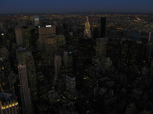 New York Cityscape at night