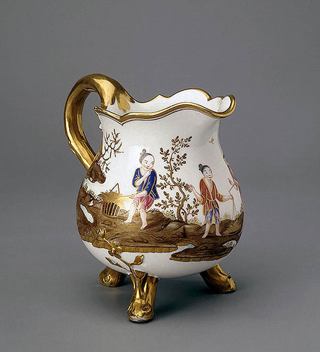 011 -Jarro para crema-Porcelana de Sèvres 1775--Copyright ©2003 State Hermitage Museum. All rights reserved
