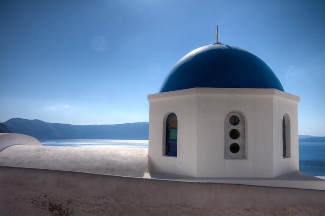 Dome in Oia
